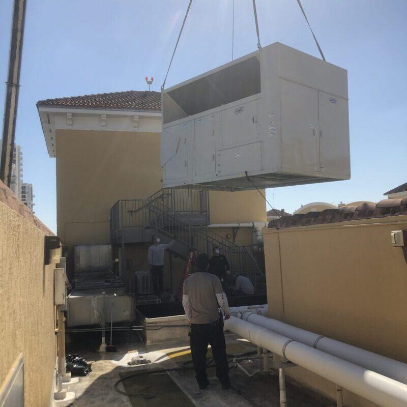 AAON Unit Install Miami